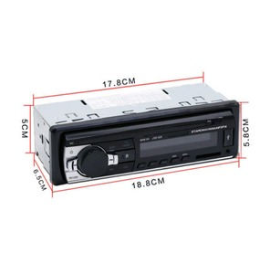 Image 3 - Autoradio JSD520, lecteur Audio stéréo numérique, Bluetooth, MP3, 60w x 4, FM, avec entrée AUX dans tableau de bord, pour voiture