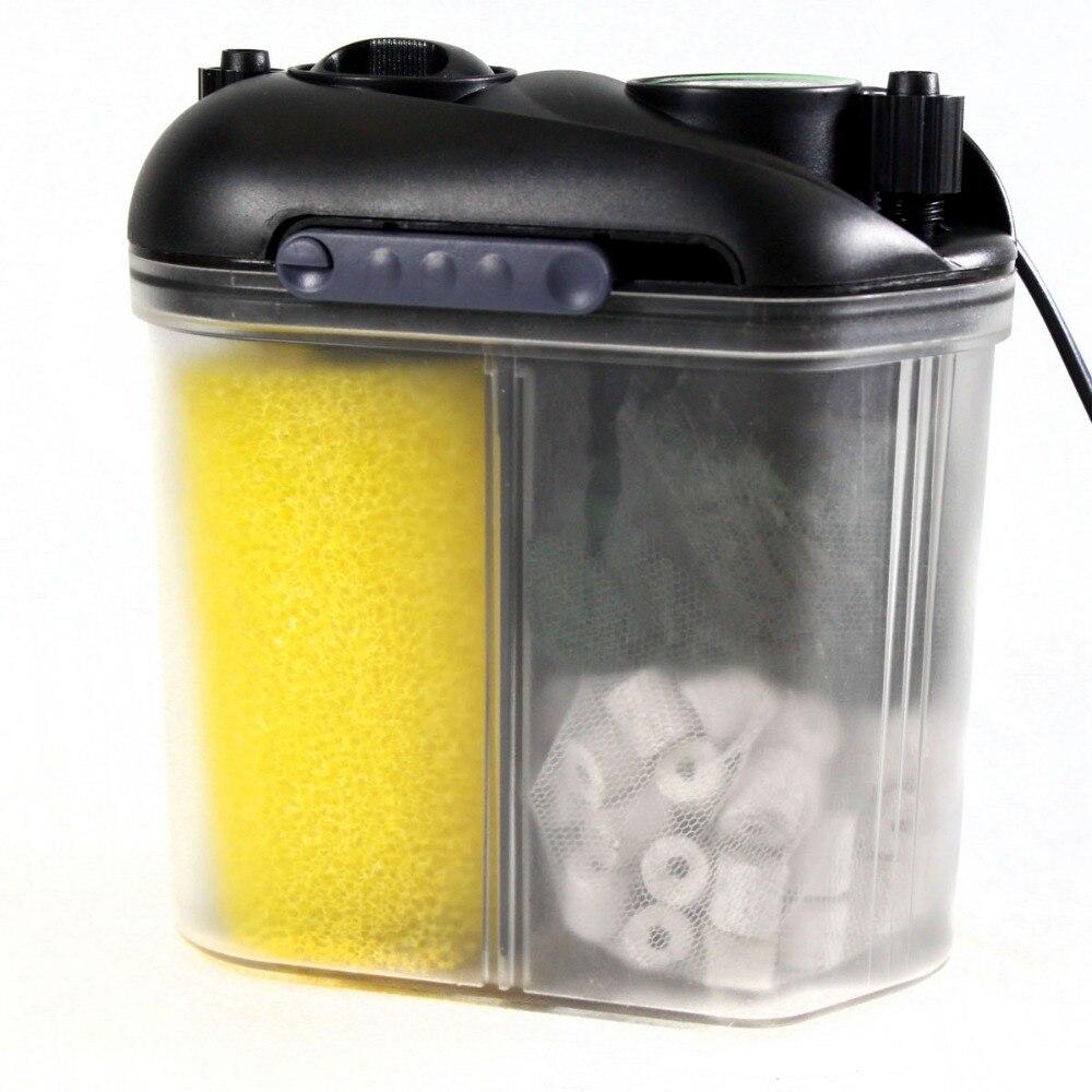 6 W 11 W UV Aquarium filtre seau avec lampe germicide Aquarium filtre externe pompe à eau augmenter pompe à oxygène 220 V
