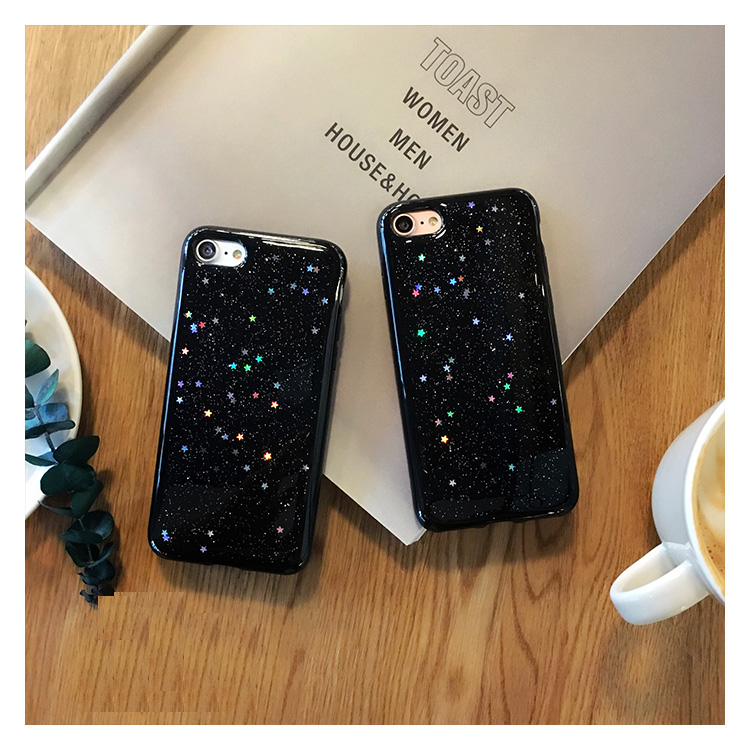 Star Iphone 6S 6 S Plus Iphone 5 S 5S Se Cover Bling Coque Iphone XS MAX XR X 10 Iphone 7 8 Plus Case