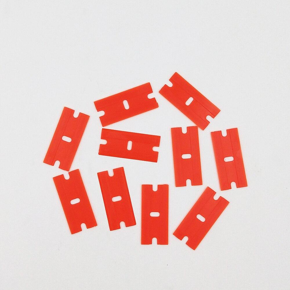 10 Piezas X 39x18mm De Plástico De Cuchillas Para Teléfono Pantalla Táctil Lcd Lem Removedor De Raspador Limpieza Kit De Herramientas De Reparación (sin Mango) Fortalecimiento De La Cintura Y Los Tendones