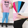 New Autumn Winter Women Leggings Fashion Plus Size Solid Cotton Polyester Warm Knitted Nater Color Leggin For Women Good Elastic