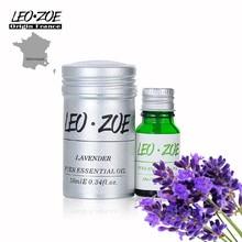 Lavender essential oil Famous Brand LEOZOE Certificate origin France Authentication Aromatherapy lavender oil 10ML