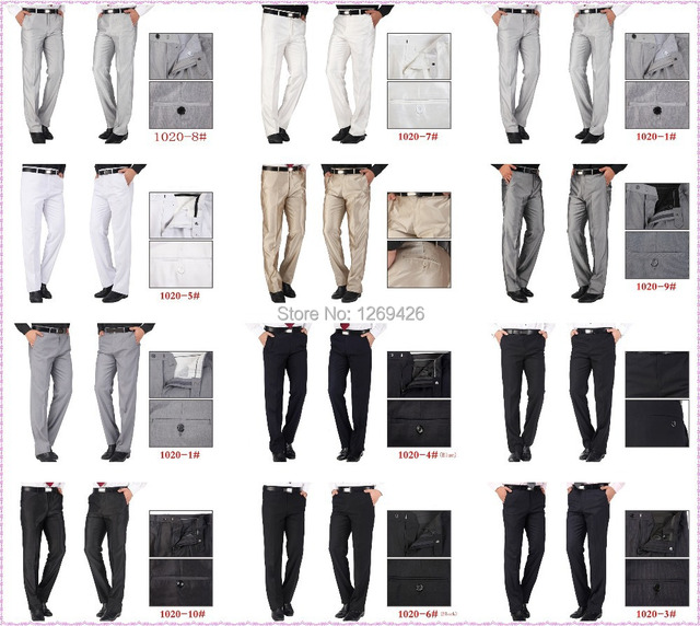 2016 Hot Selling Noble Menu0026#39;s High Quality Business Pants Formal Trousers Name Brand Prom Pants ...