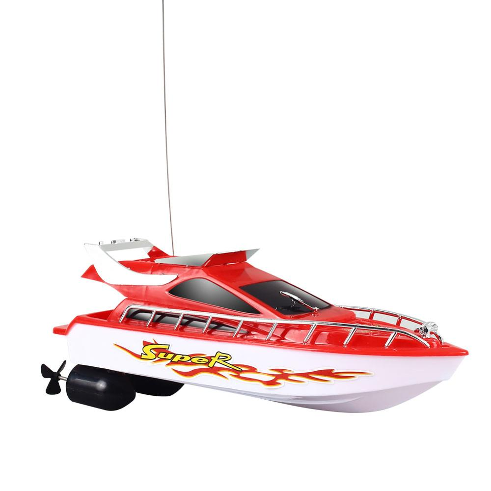 Гоночная Лодка на дистанционном управлении лодка скоростная лодка Rc многоцветная плавательный бассейн начинающих способность на открытом воздухе Новинка электрическая игрушка