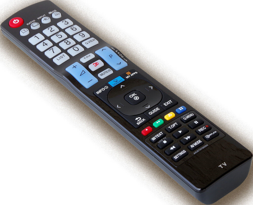 AKB73756504 AKB73756502 <font><b>TV</b></font> REMOTE CONTROL FOR <font><b>LG</b></font> <font><b>3D</b></font> LED LCD SMART <font><b>TV</b></font> 32 42 47 50 55 84 LA y LN LA79 LA86 LA96 LA97 LA98 series image