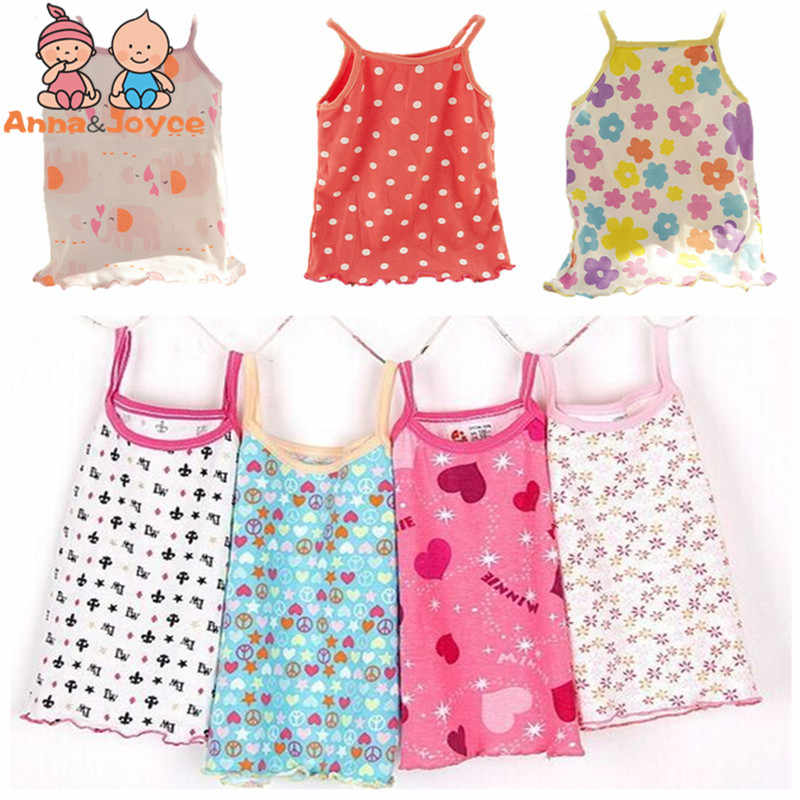 Fashion Girl Children Camisole    Halter Top Cotton Halter Top Children's Clothes for 1-2 Years TST0005