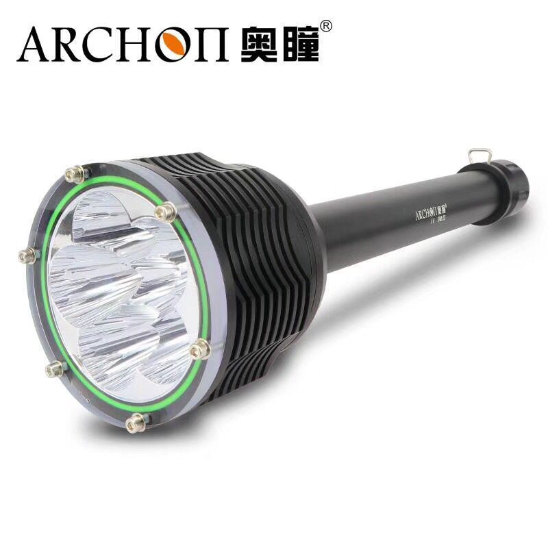 ARCHON D45 D45 II Diving Light 6 XM L2 U3 LED 6000LM 100M Underwater photographing torch