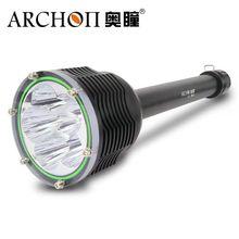 ARCHON D45 D45 II Дайвинг свет 6 * XM-L2 U3 светодиодный 6000LM 100 M Подводная фотосъемка факел с аккумуляторами + зарядное устройство + алюминиевый корпус