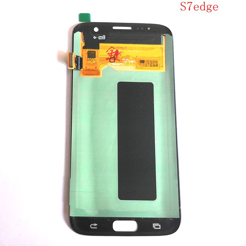 Amoled Tested good For Samsung Galaxy S7 edge G935 G935F G935A G935V G935P LCD With touch glass Full set for repair display image