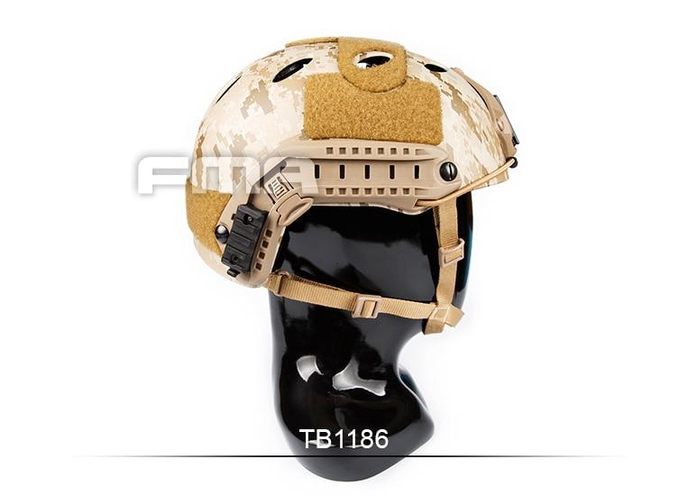 Desert digital series FMA FAST Helmet-PJ AOR1 TB1186 fast ballistic helmet rapid response tactical helmet mc fg at tan aor1 digital desert bk woodland atfg acu