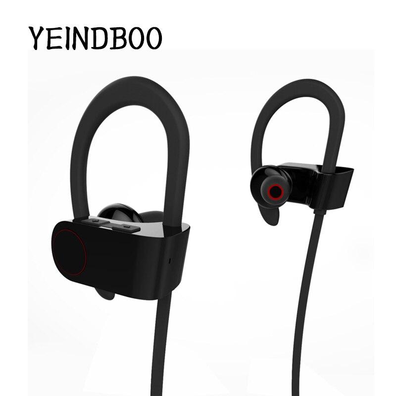 YEINDBOO Q6U8 Sports Wireless Bluetooth Headset Stereo Sports Headphones Subwoofer Wireless Headphones 8635 Bluetooth Headset