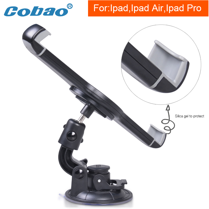 Cobao 9.5 9.7 12.9 To 14.5 Inch Tablet Car Holder Large Vaccum Chuck Tablet Pc Stand For Ipad Air Pro Samsung Galaxy Tab Support