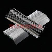 100pcs Lot 0 15mm X 7mm X 100mm Quality Low Resistance 99 96 Pure Nickel Strip