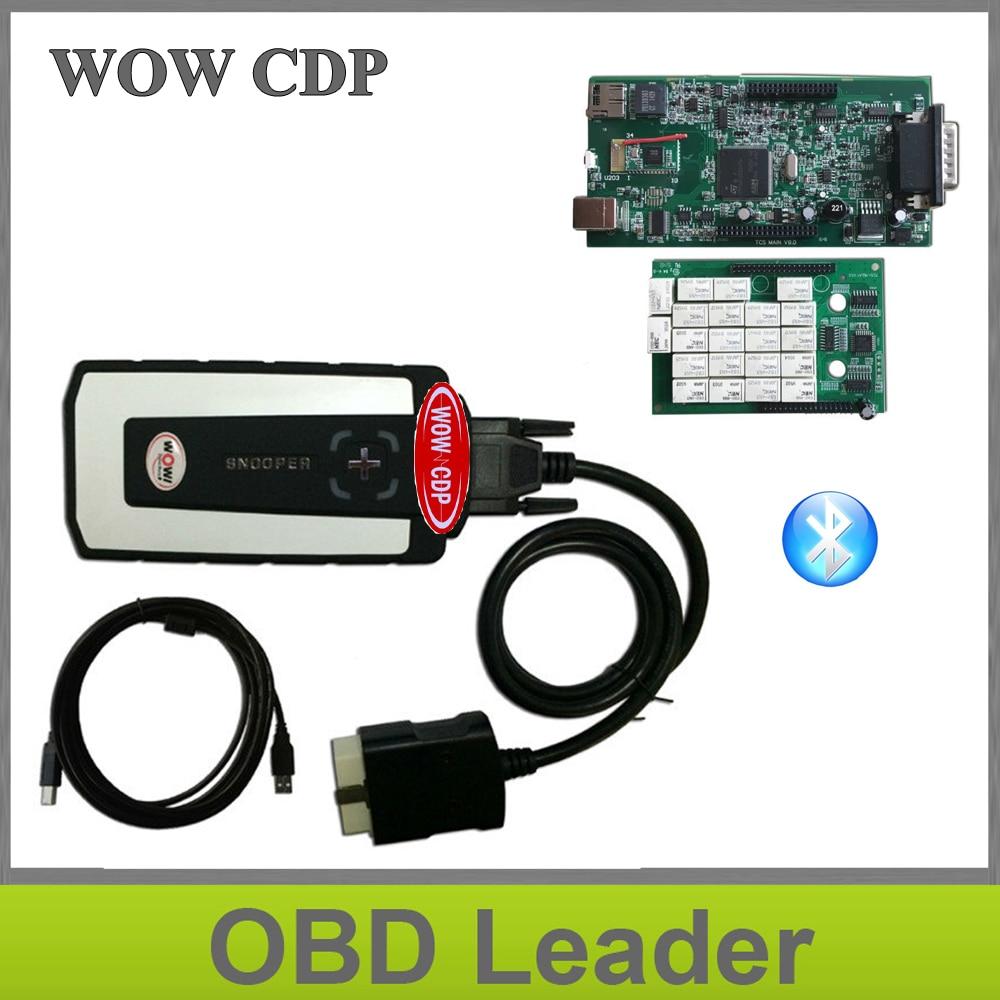 Цена за Keygen как подарок! WOW CDP snooper с Bluetooth V5.00.8 R2 программного обеспечения multidiag Pro Plus автомобили Грузовики Авто OBD2 Diagnostics Tools