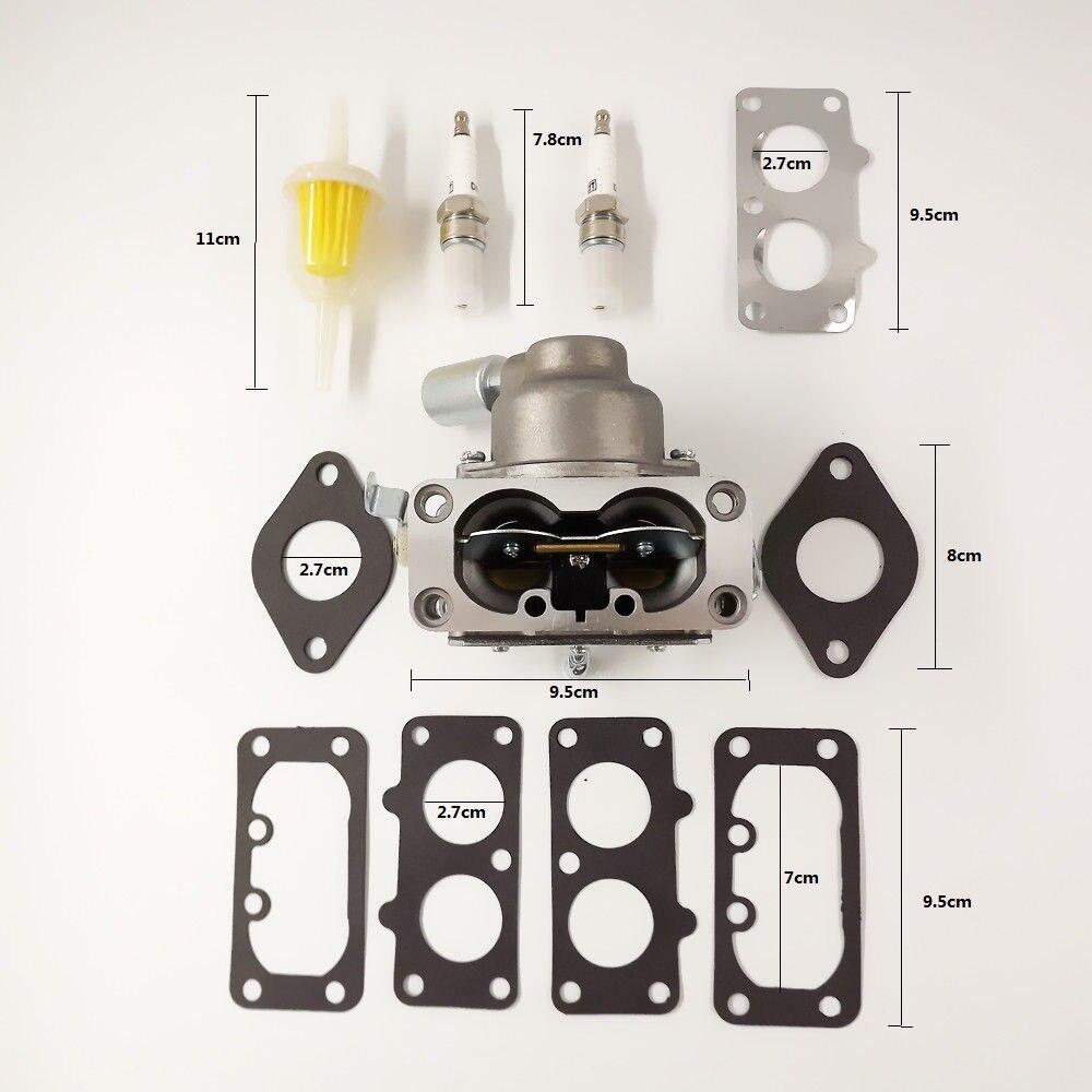 Accessoires de voiture Briggs Stratton carburateur pour Suzuki samouraï avec solénoïde de feu arrière 20Hp 21Hp 23Hp 24Hp 25Hp V moteurs jumeaux