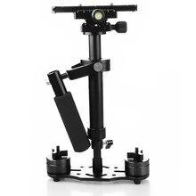 S40 + Плюс 40 см Максимальная нагрузка 1.3 кг Ручной Стабилизатор Steadicam для Камеры Видеокамеры Gopro Видео DV DSLR бесплатная доставка