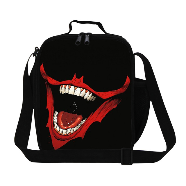 Small Lunch Cooler bags for Children School Insulated Lunch Container Patterns Cool Lunch Box Bags with Straps Lunch Bag for boy