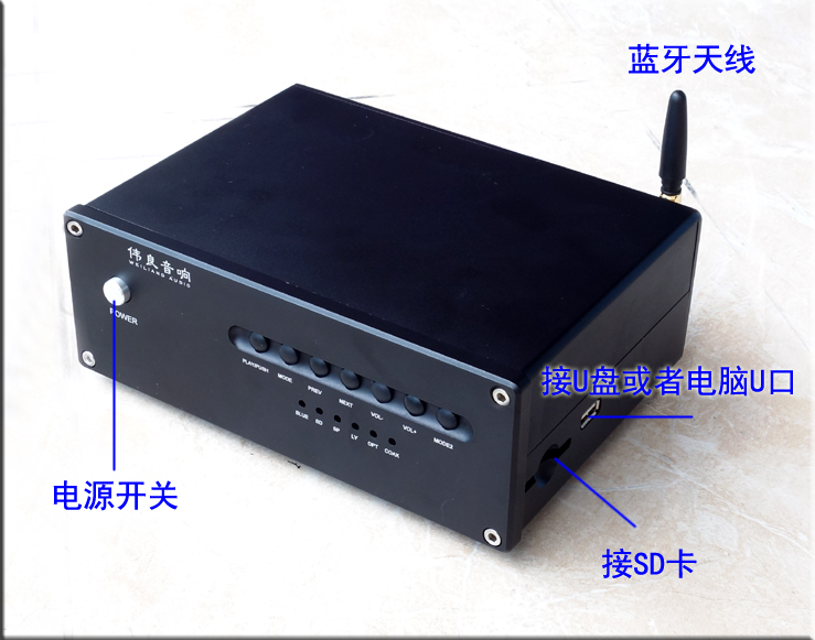 Finished ES9028Q2M C30 Lossless player USB Fiber coaxial input DAC Bluetooth 4.2