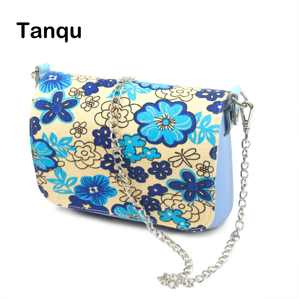 TANQU New Small EVA Pocket women shoulder bag square bag Plus canvas Flap and metal shoulder Chain with Clip Closure stylish women s tote bag with clip closure and crocodile print design
