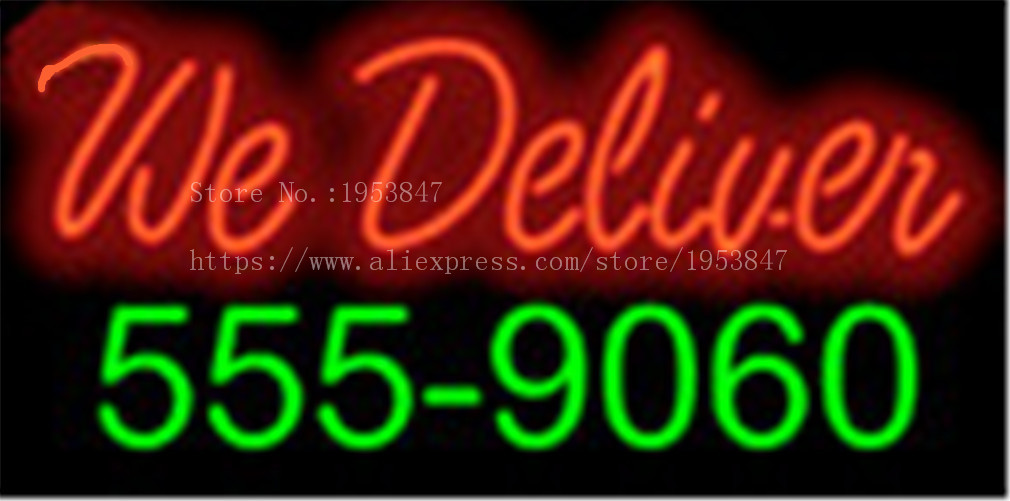 3be85e05177b US $135.0 |We Deliver with Phone Number Neon sign Real Glass Tube Bulbs  Light Bar Beer Decoration Custom Signs Store Shop Signboard 17