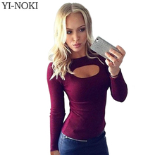 Женские блузки и Рубашки Yi/nok Bodycon