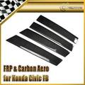 Car-styling For Honda Civic FB 2012 (4 Door) Carbon Fiber B-Pillar Cover