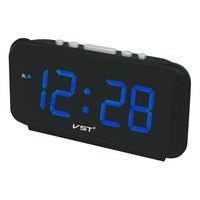 Digital Alarm Clock LED with Big Numbers EU Plug AC Power Desktop Electronic Table Clocks Decorative Bedroom Desk Watch