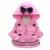 2016 New Minnie Meninas Do Bebê Jaqueta de Crianças Encantador Dos Desenhos Animados Manter Quente Casaco de Inverno Crianças Algodão Moda Casacos Com Capuz Grosso