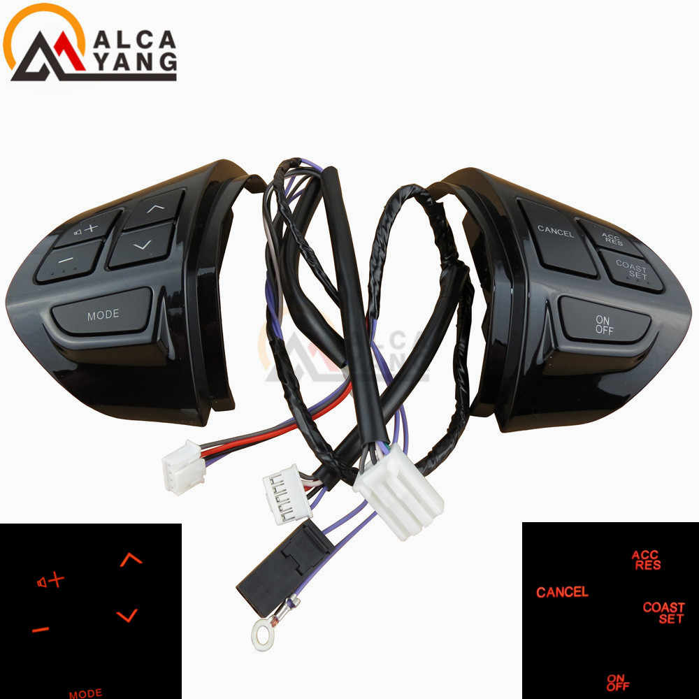 Car Steering Wheel Control Switch Audio Cruise Button