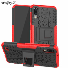 цена на sFor Case Samsung Galaxy M10 Case Dual Layer Armor TPU+PC Shockproof Cover For Samsung Galaxy M10 Case For Samsung M10 Fundas