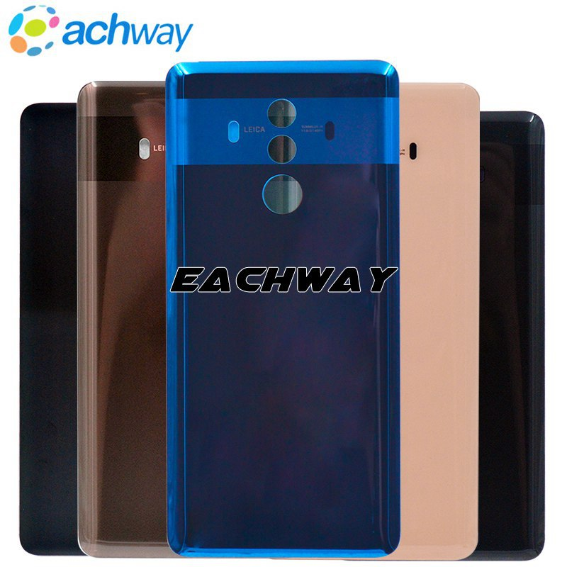 HUAWEI Compagnon 10 Pro Retour Batterie Couverture Arrière Porte Logement Cas de Remplacement Panneau En Verre Pour 6.0 HUAWEI Compagnon 10 Pro Couvercle de La Batterie