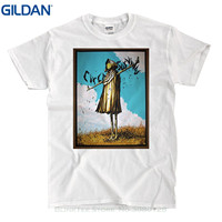 GILDAN Summer Short Sleeves Fashion T Shirt Free Shipping Circa Survive 2010 Shirt