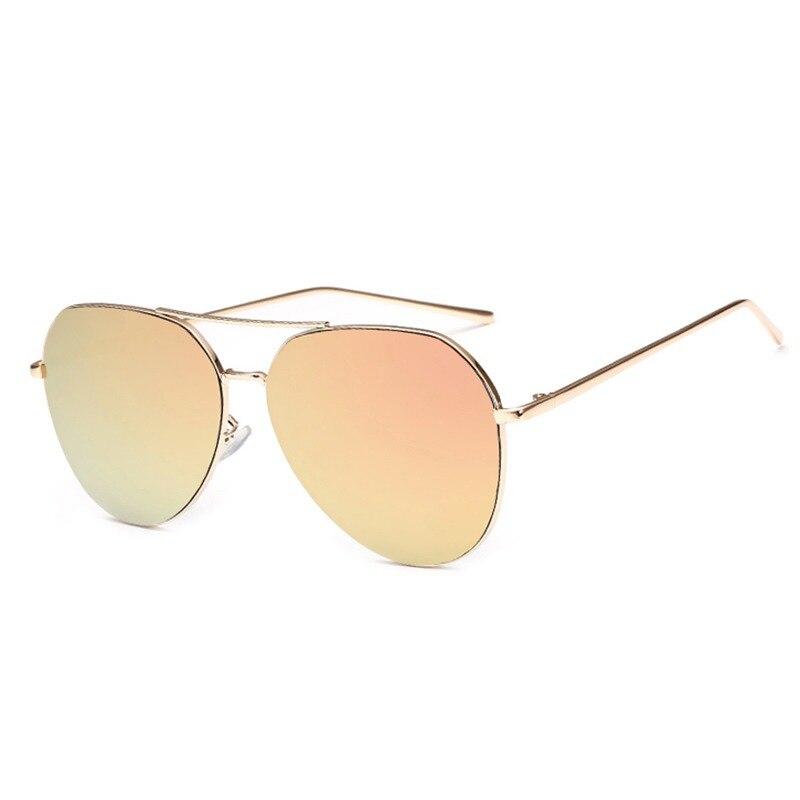 4c45543945 OFIR 2017 Brand Designer Oversized Pilot Oval Sunglasses Women Men Sun Glass  Aviation Metal Frame Mirror
