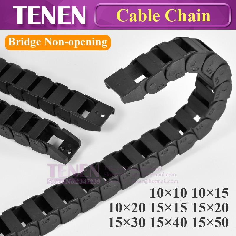 Puente de Cable de 10x20 15x30 40 50 Cable portador de transmisión de plástico a Towline de corte por láser grabado de la máquina herramienta CNC