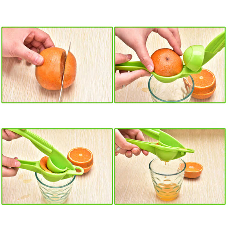Spremiagrumi Spremere Utensili Da Cucina Lemon Squeezer 2 In1 Manuale Spremiagrumi Spremiagrumi A Mano Doppio Ciotola Lemon Lime Spremiagrumi Citrus Presse