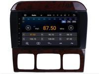 Для Mercedes Benz S W220 1998 2006 Автомобильная Мультимедийная ТВ DVD GPS радио android Стиль навигации liislee advanced Navi