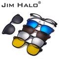 3080c60c2a JM magnético lente tonos 5 piezas polarizadas Clip-Clip en gafas de sol de  marco