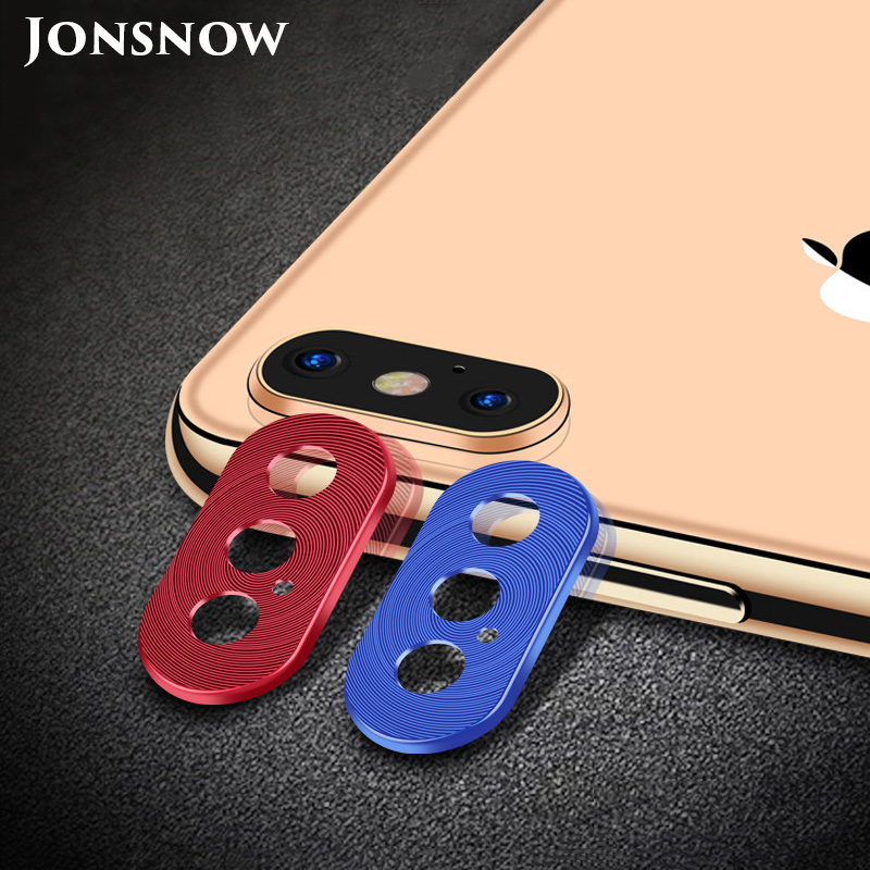 KIPX1118_1_Metal Camera Lens Protector for iPhone X XS XR XS Max 360 Full Protection Anti-scratch Camera Protective Cover