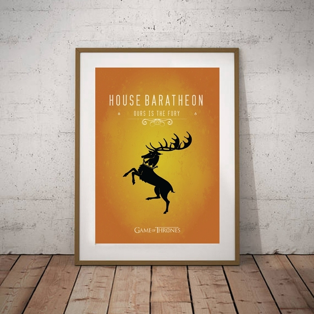 """""""Game of Thrones"""" Wall Art Canvas  5"""
