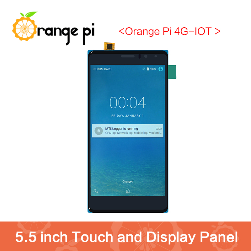 Orange Pi 4G-IOT 5.5inch Black color TFT LCD Touch Screen 翻轉 貓 砂 盆