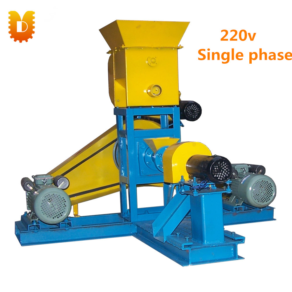 30-40kg/h Animal Feed Extruder Machine/Fish Dog Food Feed Pellet Machine feed
