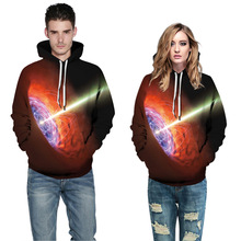 E-BAIHUI new autumn hoodies Space Scientific Black Hole 3D Print Pullover Hoodies Hipster Streetwear Jumper Men Clothing G024