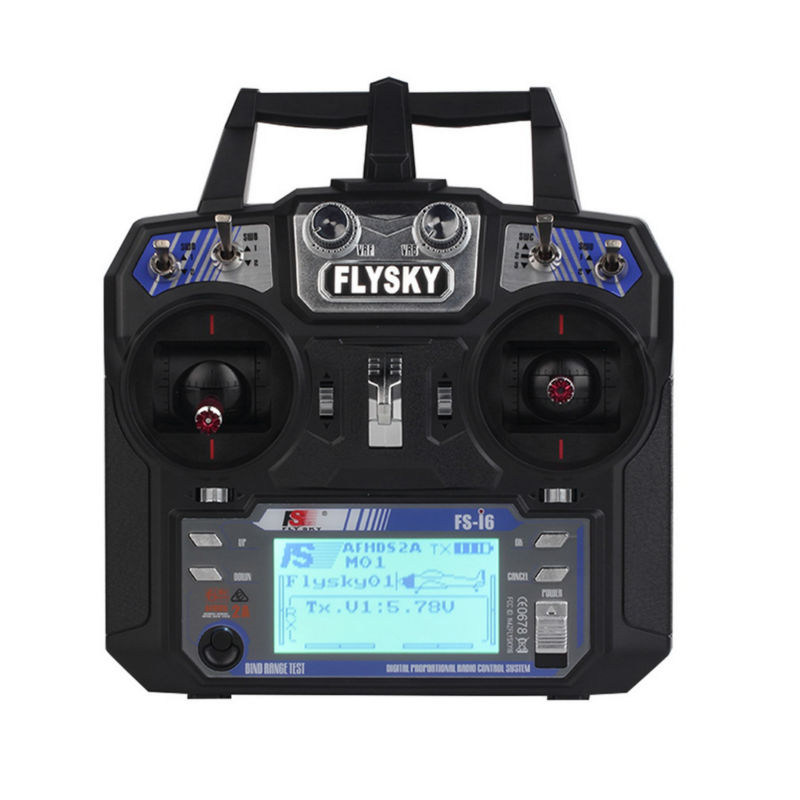FS i6 2.4G 6ch RC Transmitter Controller + Receiver RC Helicopter T6 FLYSKY Mode 2 6 Channels For Fixed-wing Glider Airplane flysky 2 4g 6ch channel fs t6 transmitter receiver radio system remote controller mode1 2 lcd w rx rc helicopter multirotor