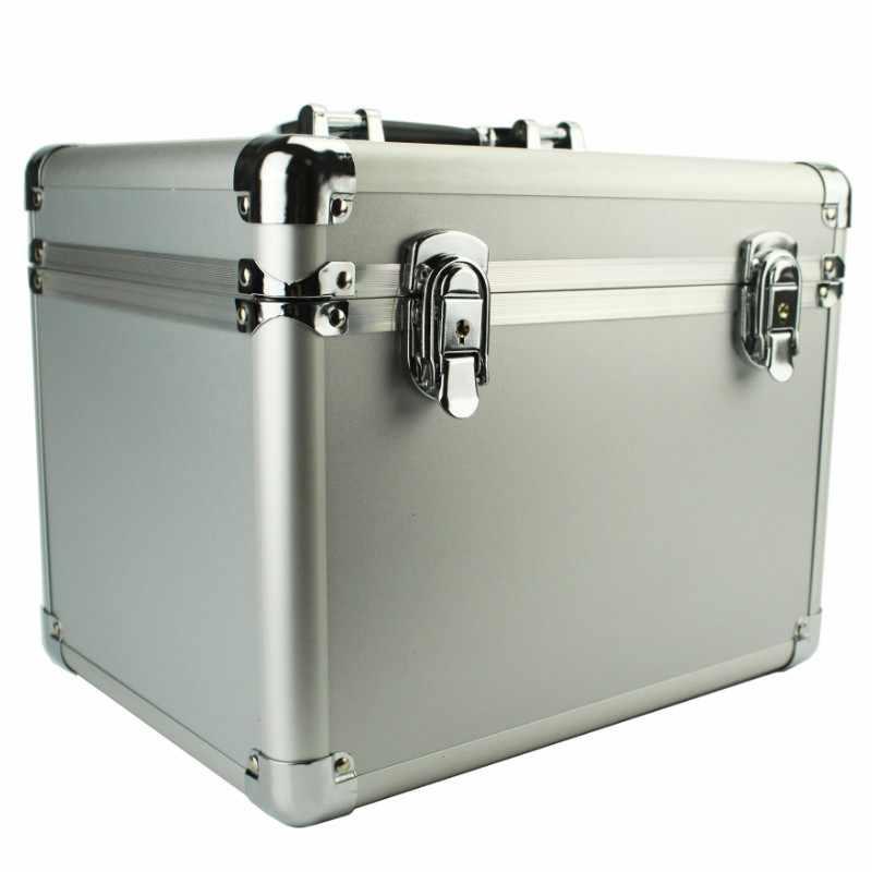 220x220x200 мм алюминиевый чехол для инструментов чемодан коробка для файлов ударопрочный защитный чехол для камеры оборудование для безопасности на открытом воздухе
