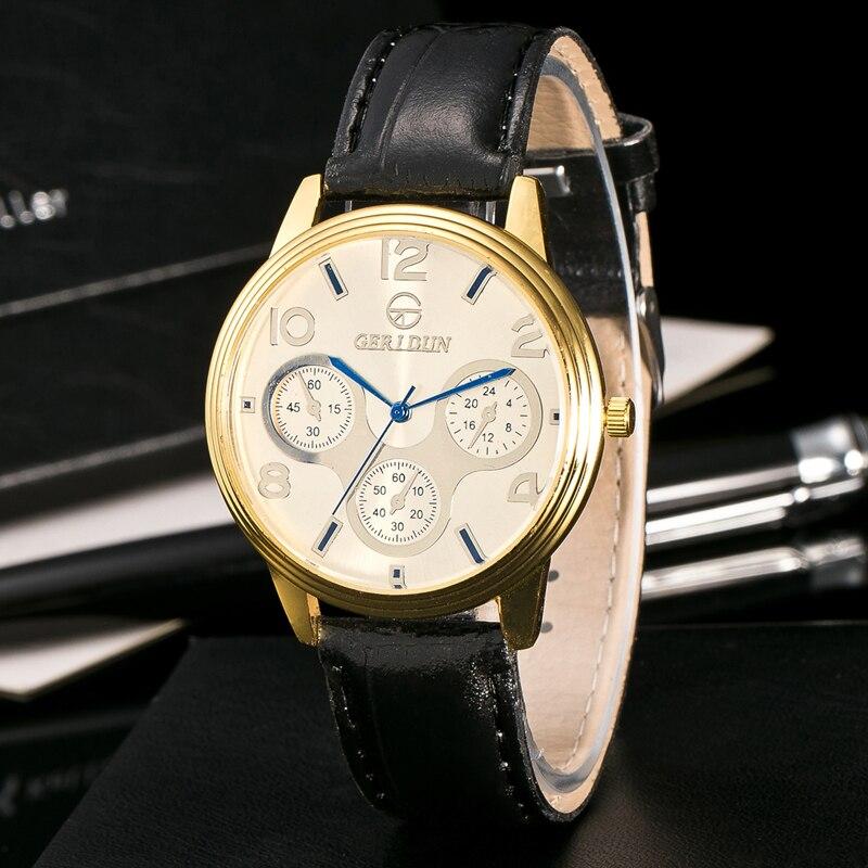 2017 Fashion Chronograaf Sport Heren Horloges Topmerk Luxe Militaire - Herenhorloges - Foto 3