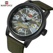 2019 New Luxury Brand NAVIFORCE Men Army Military Watches Mens Quartz Clock Male Fashion Sports Wrist Watch Relogio Masculino