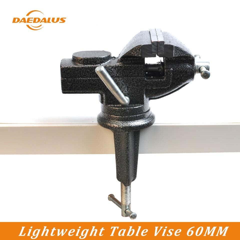 Daedalus bricolage 60mm Alternative Table étau banc pince léger Vises meuleuse support foret pour outil à main rotatif artisanat
