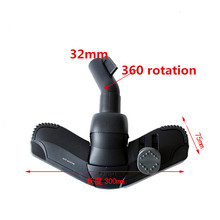 32mm  Vacuum Cleaner Accessories Cleaning brush Floor brush  Full range of brush Head For Philips FC8398 FC9076 FC9078 FC8607