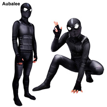 Spider Man Far From Home Stealth Suit Adult Child Black Spid