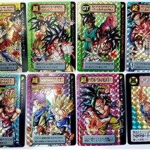 41 шт. Dragon Ball Super Ultra Instinct Goku Jiren экшн-игрушки Фигурки часы в советском стиле игра флэш-карты коллекционные карточки